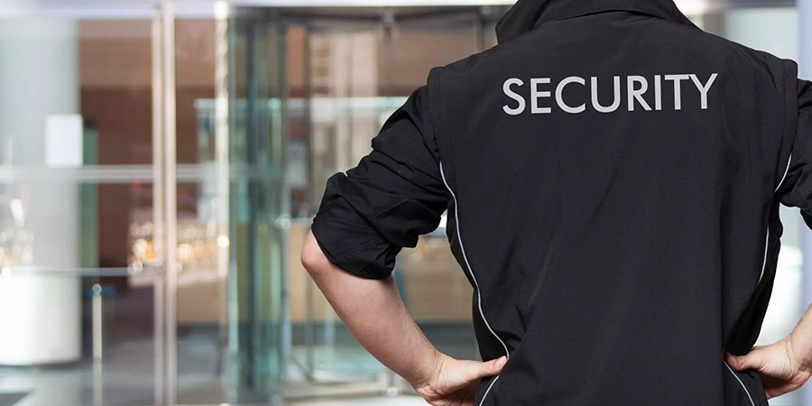 high rise commercial security guard
